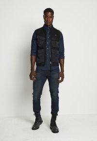 G-Star - G-BLEID SLIM C - Slim fit jeans - kir stretch denim o - antic dark ink blue - 1