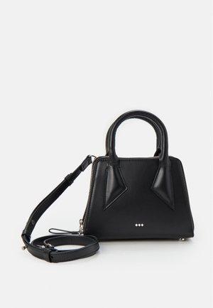 TRAPEZE MINIATURE BAG - Käsilaukku - black
