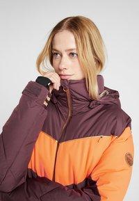Roxy - SUMMIT  - Snowboard jacket - grape wine - 4