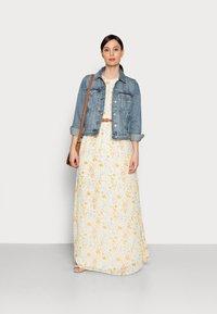 Anna Field - Maxi dress - white/yellow - 1