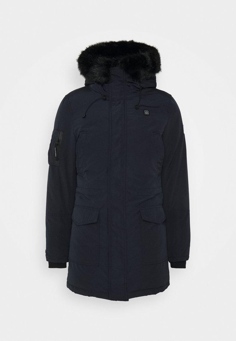 Maison Courch - ANCOLIE TECHNICAL PARKA - Winter coat - navy/black