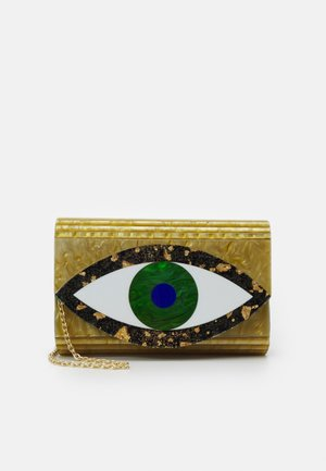 EYE PARTY ENVELOPE - Clutch - gold-coloured