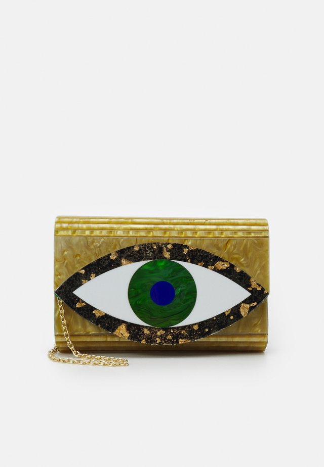 EYE PARTY ENVELOPE - Clutches - gold-coloured