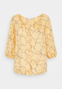 Calvin Klein - VOILE BUTTON UP  - Blouse - muted yellow - 1