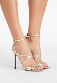 Pura Lopez - High heeled sandals - metal platin - 0