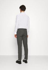 Burton Menswear London - SLIM 2 PACK - Kangashousut - black/grey - 2