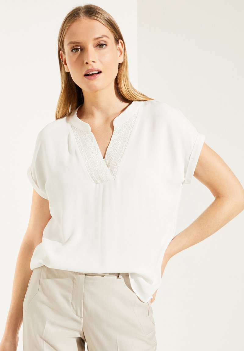 comma - Blouse - white