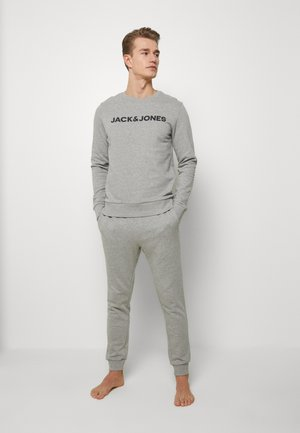 JACLOUNGE - Pyjamas - light grey melange
