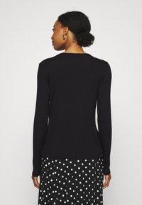 Missguided Maternity - NURSING LONG SLEEVE 2 PACK - Long sleeved top - black/grey marl - 2