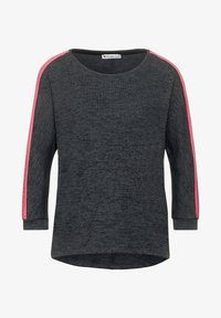 Street One - MIT WORDING - Jumper - grau - 3