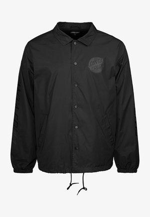 CONTRA DOT MONO - Summer jacket - black