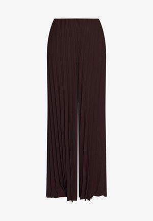 BLIZ - Spodnie materiałowe - fudge