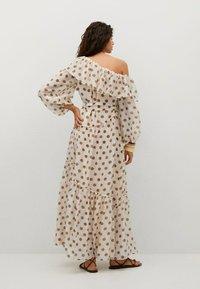 Mango - Denní šaty - ecru - 2