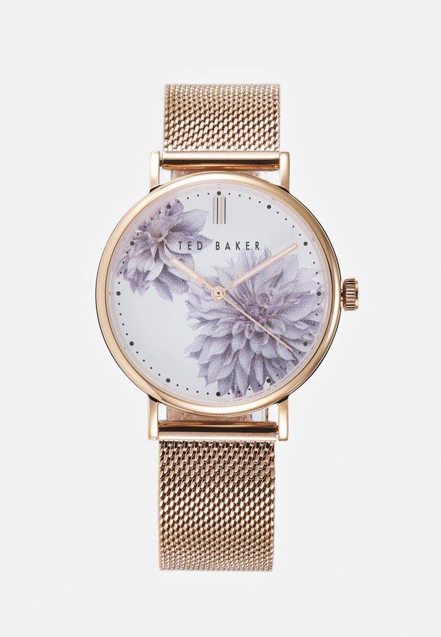 PHYLIPA PEONIA - Rannekello - rosegold-coloured