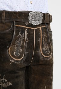 Stockerpoint - LAURENCE - Kožené kalhoty - bison - 4