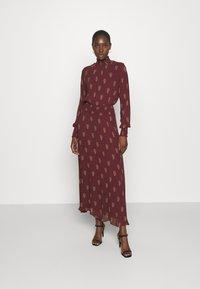 IVY & OAK - RAPA - Maxi dress - bordeaux - 0
