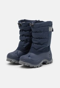 CMP - KIDS PAHKU UNISEX - Winter boots - black blue - 1