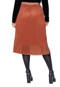 Sheego - Pencil skirt - rostorange - 2
