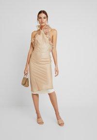 LEXI - CHANTAL DRESS - Cocktail dress / Party dress - beige - 1