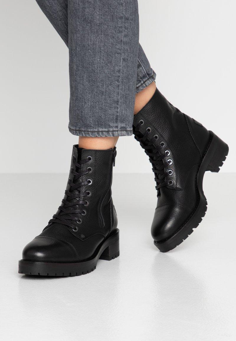 Bullboxer - Platform ankle boots - black