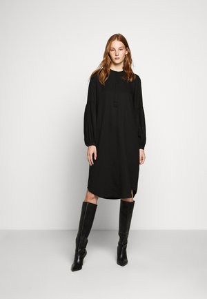 PRALENZA SOFJE DRESS - Shirt dress - black