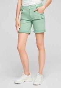 s.Oliver - Denim shorts - turquoise - 0