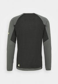 Zimtstern - PUREFLOWZ MENS - Sports shirt - pirate black/gun metal - 1
