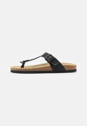 UNISEX - Sandály s odděleným palcem - black