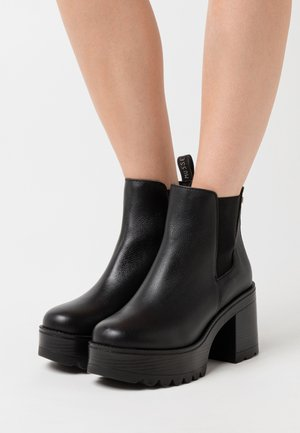 FILK - High heeled ankle boots - black
