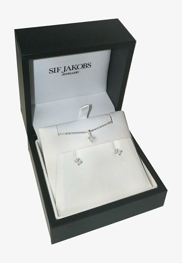 SET  - Earrings - silver-coloured