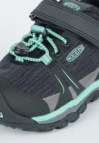 Keen - TERRADORA II LOW WP - Hiking shoes - black/beveled glass - 5