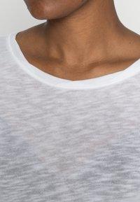 Marc O'Polo - LONGSLEEVE - Bluzka z długim rękawem - white - 4