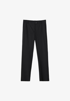 UNIFARBENE SLIM-FIT-HOSE 05040533 - Trousers - black