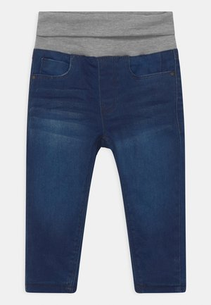 BABY THERMO - Slim fit jeans - mid blue denim
