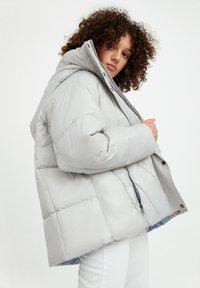 Finn Flare - Winter jacket - light grey - 3