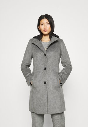 Short coat - gunmetal