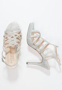Menbur - BEGONIA - High heeled sandals - plata - 2