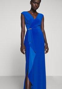 Lauren Ralph Lauren - CLASSIC LONG GOWN - Vestido de fiesta - portuguese blue - 3