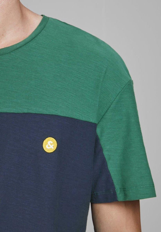 Jack & Jones Print T-shirt - trekking green 1MjGU