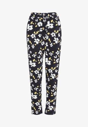 IHLISA - Trousers - black, print