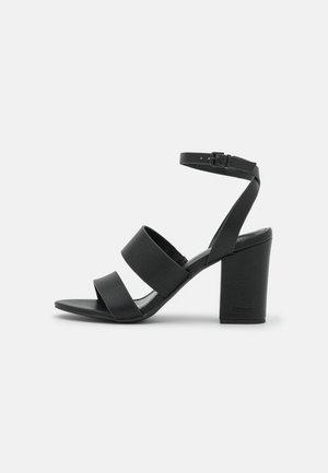 CALLA  - High heeled sandals - black