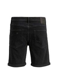 Jack & Jones - JACK & JONES JEANS INTELLIGENCE - Denim shorts - black denim - 1