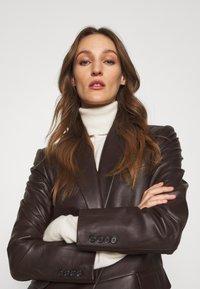 Lauren Ralph Lauren - BONARO - Blazer - chocolate - 4