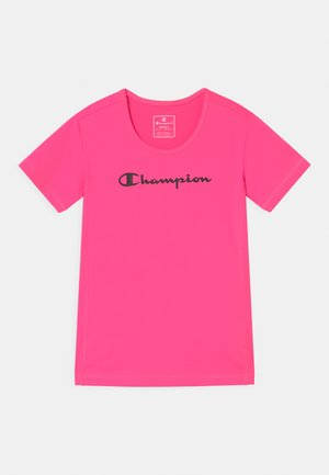 GIRLS PERFORMANCE - T-shirt con stampa - pink