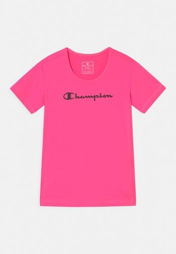 GIRLS PERFORMANCE - Triko spotiskem - pink