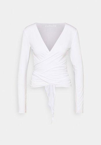WRAP - Sweatshirt - white