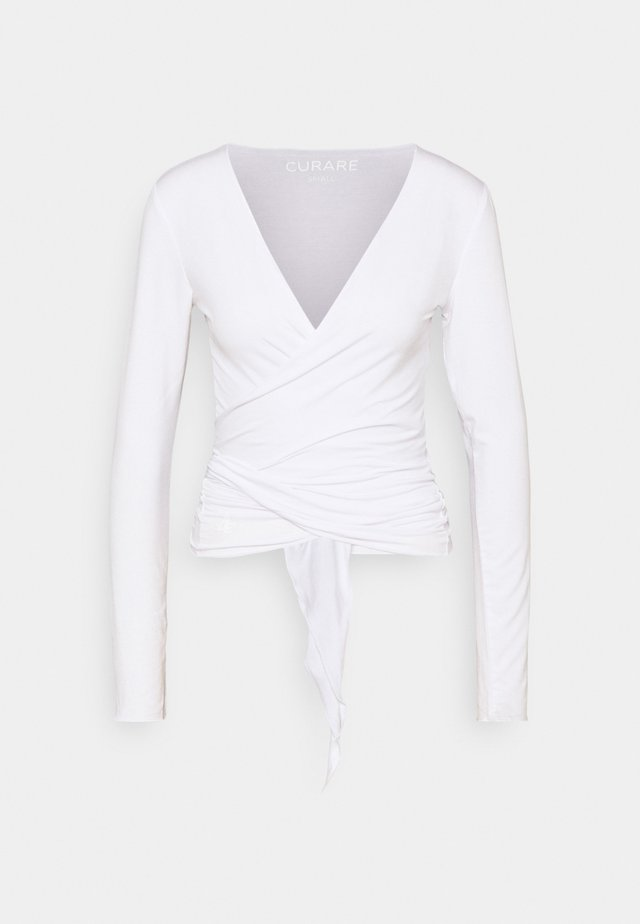 WRAP - Sweatshirt - white