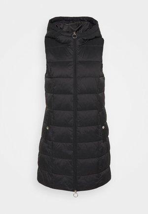JDYZULU LONG HOOD WAISTCOAT  - Waistcoat - black