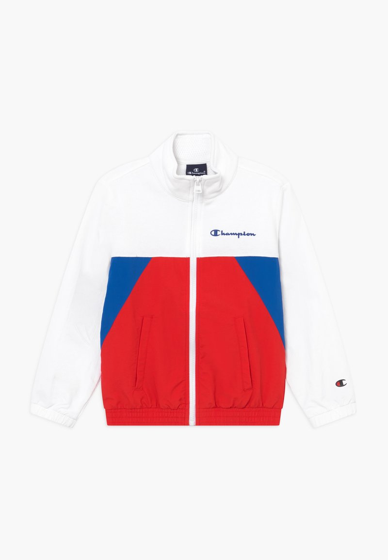 Champion - LEGACY 90'S BLOCK FULL ZIP  - Giacca sportiva - royal blue/white