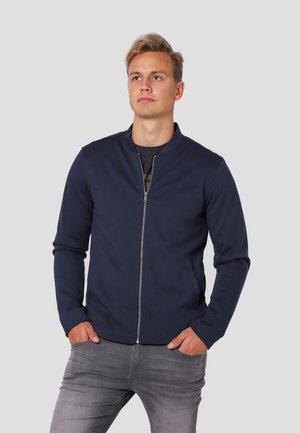 Zip-up hoodie - dk.navy